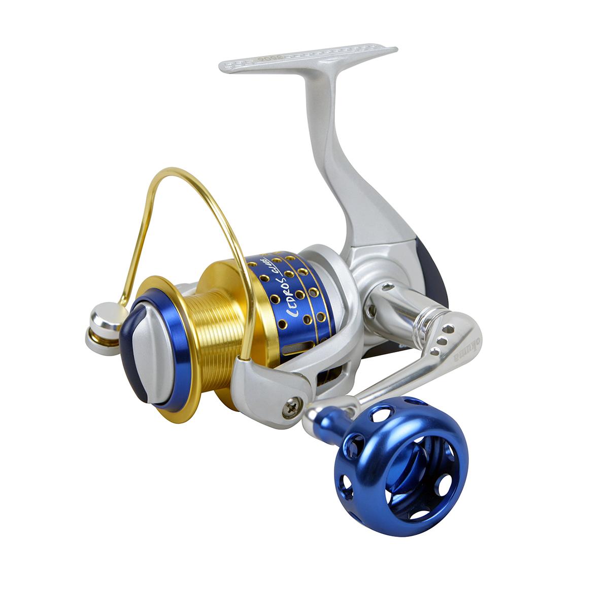 Cedros spinning reel okuma fishing rods and reels for Okuma fishing reel