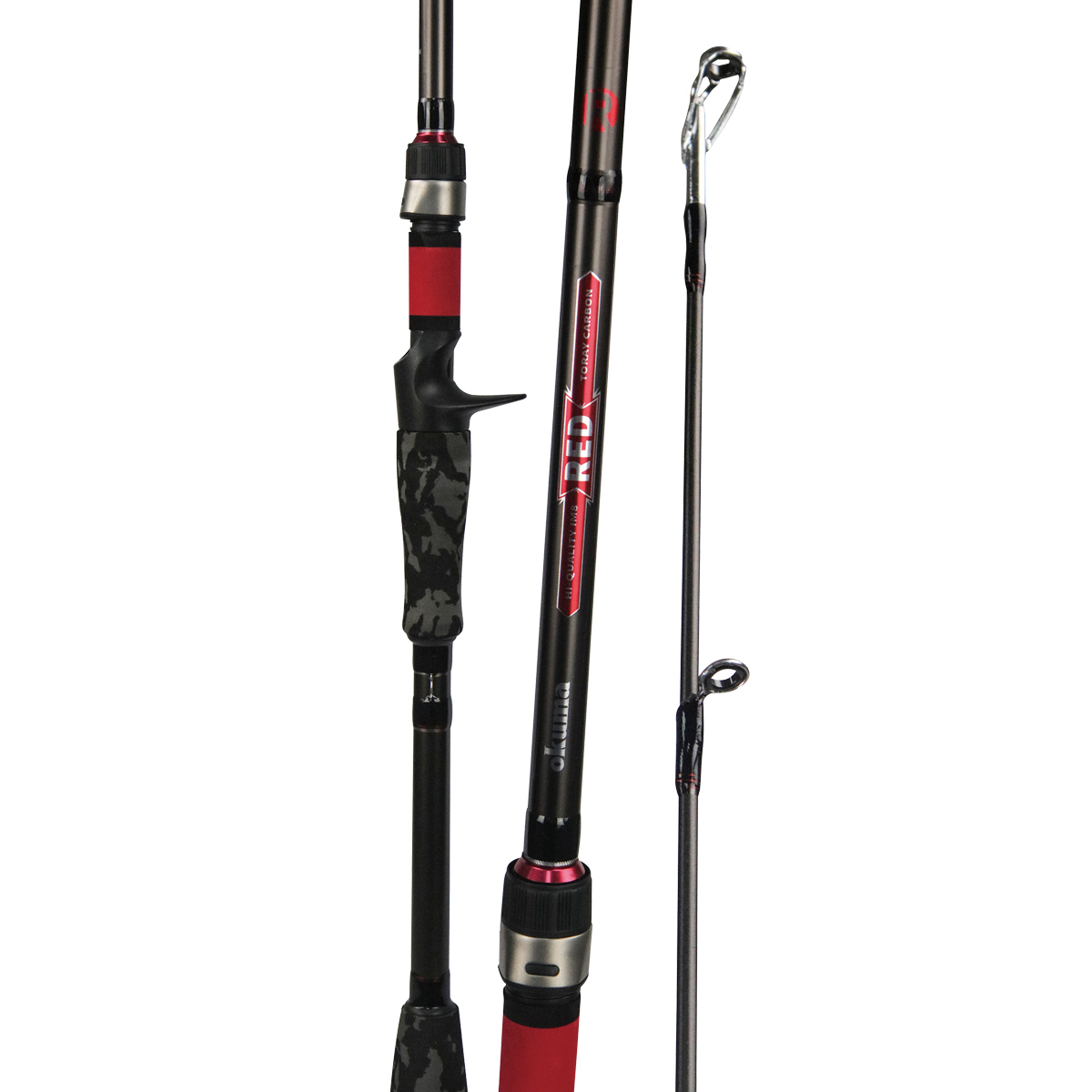red rod okuma fishing rods and reels okuma fishing