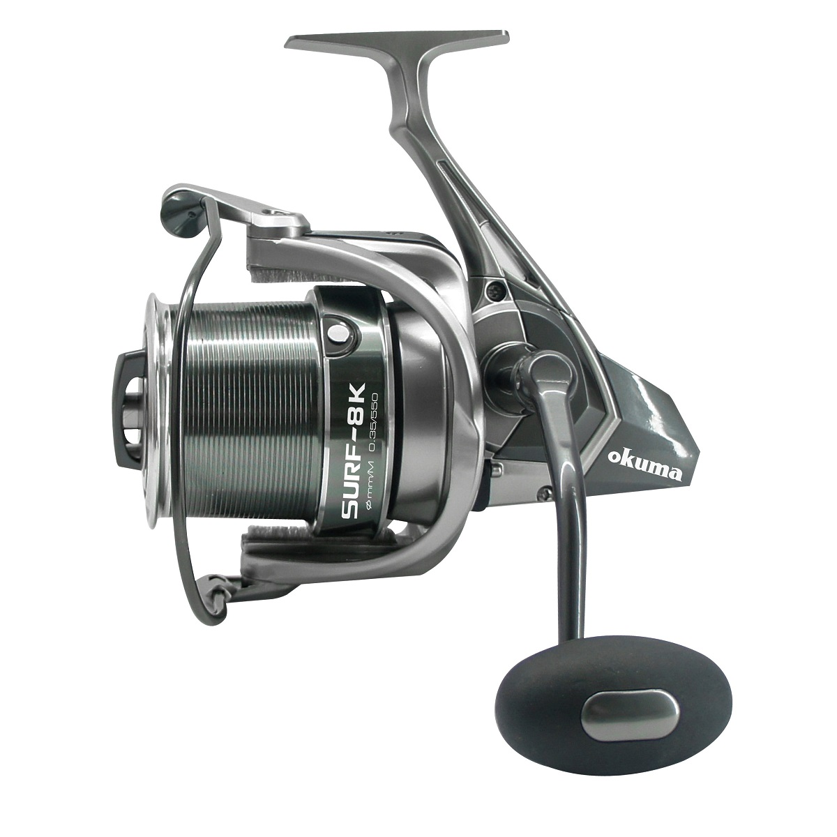 Surf 8k spinning reel 2018 new okuma fishing rods and for Surf fishing reels