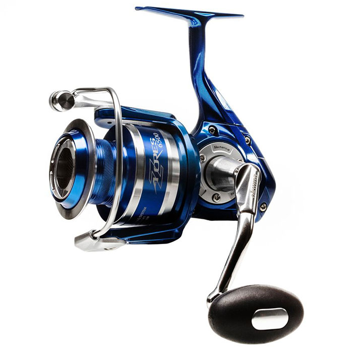 Fishing rods and reels azores spinning reel manufacturer for Okuma fishing reel