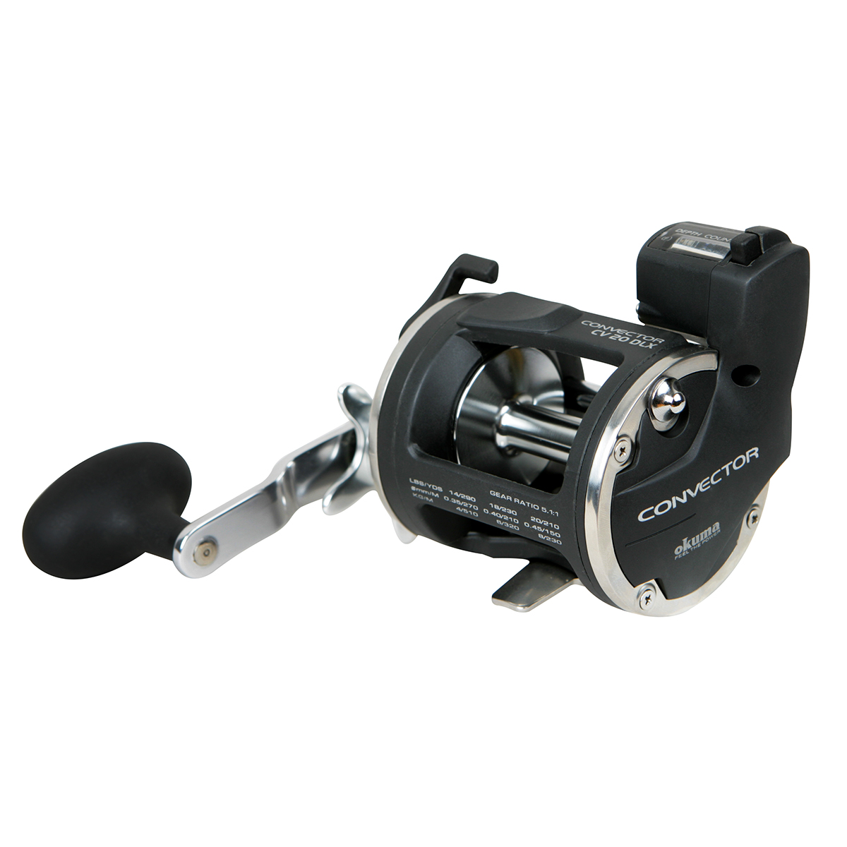 Convector Line Counter Reel Okuma Fishing Rods And Reels