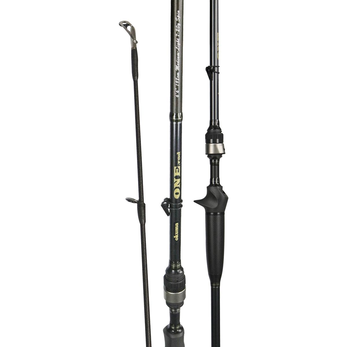 One rod okuma fishing rods and reels okuma fishing for Best bass fishing rod and reel